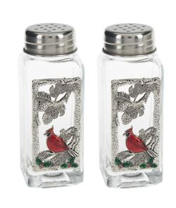 Ganz Salt and Pepper Shakers - Christmas Cardinals
