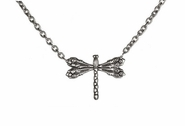Ganz Spoon Handle Necklace - Dragonfly