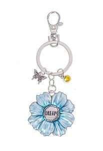 Ganz Springtime Flowers Key Rings - Dream