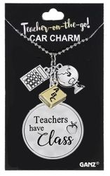 Ganz Teacher on the Go Car Charms - Teachers Have Class