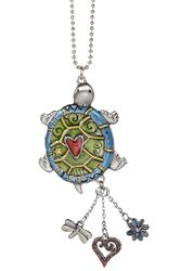 Ganz Car Charms - Color Art Turtle