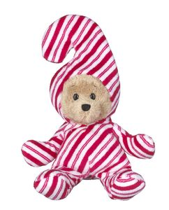 Ganz Wee Bears - Candy Cane Christmas Bear