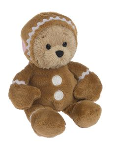 Ganz Wee Bears - Gingerbread Man Holiday Bear 6""