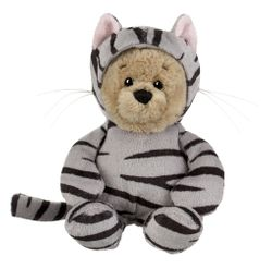 Ganz Wee Bears - Grey Tabby Cat