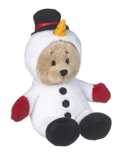 Ganz Wee Bears - Snowman Holiday Bear