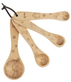 Ganz Wooden Measuring Spoons - Dogs