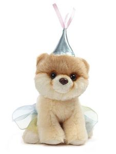 GUND Itty Bitty Boo Princess Pomeranian Dog Plush Toy 5""