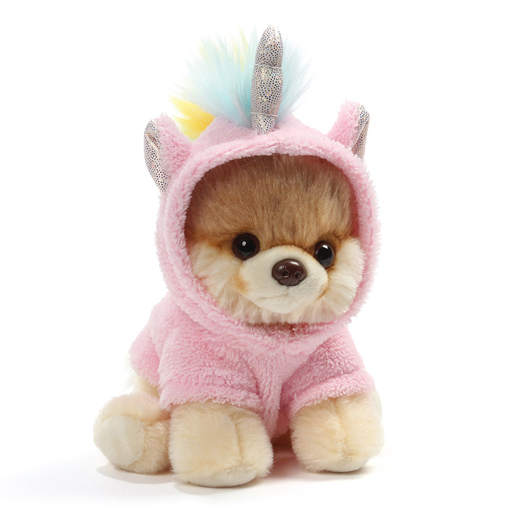 GUND Itty Bitty Boo Unicorn Pomeranian Dog Plush Toy 5""