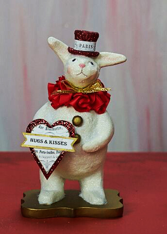 Heather Myers - Bunny Love Valentine Rabbit Figurine