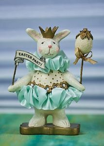 Heather Myers - Jelly Bella Bunny Easter Figurine 6.5""