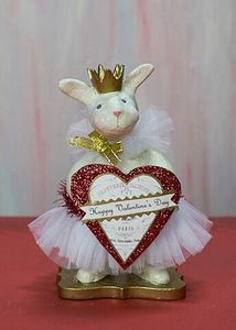 Heather Myers - Scarlett Bunny Rabbit Valentine Figurine