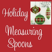 Ganz Christmas and Holiday Measuring Spoons