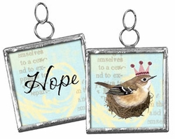 Primitives by Kathy Pendant Charm - Hope