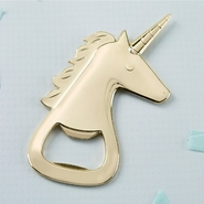 Kate Aspen Gold Unicorn Bottle Opener