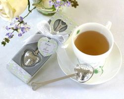Kate Aspen Tea Time Heart Shaped Tea Infuser