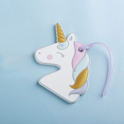 Kate Aspen Unicorn Luggage Tag