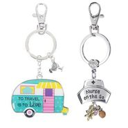 Ganz Key Rings, Keychains, Luggage Tags