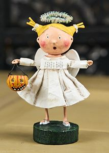 Lori Mitchell Angel Girl Halloween Figurine