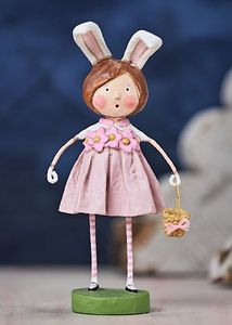 Lori Mitchell Bunny Williams Easter Figurine