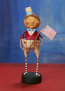 Lori Mitchell Franklin Freedom Patriotic Figurine