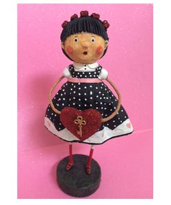 Lori Mitchell Key to My Heart Valentine Figurine