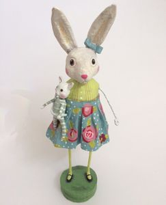 Lori Mitchell Loretta Lightfoot Bunny Easter Figurine