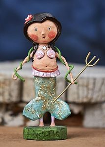 Lori Mitchell Marina Mermaid Figurine 6""