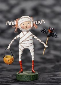 Lori Mitchell Minnie Mummy Halloween Figurine 6""