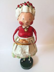 Lori Mitchell Mrs. Claus Christmas Figurine