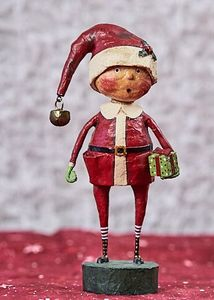 Lori Mitchell Playing Santa Christmas Figurine