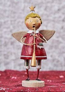 Lori Mitchell Tis The Season Angel Figurine