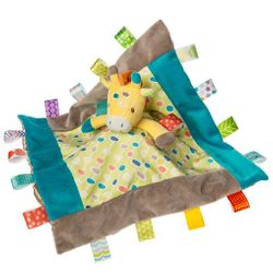 Mary Meyer Taggies Gumdrops Giraffe Character Blanket