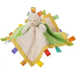 Mary Meyer Taggies Sherbet Lamb Character Baby Blanket