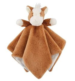 "Mud Pie Baby Horse Plush Woobie 11"" x 6"""