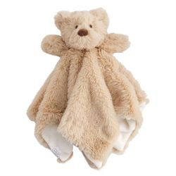 "Mud Pie Baby Bear Plush Woobie 11"" x 6"""