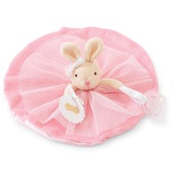 Mud Pie Baby Princess Bunny Skirted Pacy Lovies