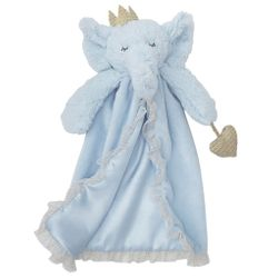 Mud Pie Baby Shimmer Skirted Lovies - Elephant