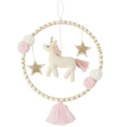 Mud Pie Baby Unicorn Wall Hoop