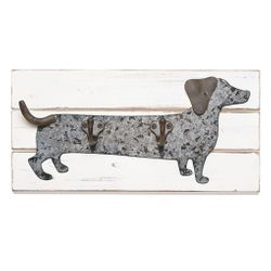 Mud Pie Dachshund Dog Wall Hook