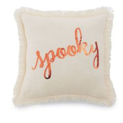 Mud Pie Halloween Spooky Sequin Pillows