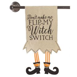 Mud Pie Halloween Witch Switch Tea Towels