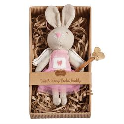Mud Pie Mini Tooth Fairy Bunny Pocket Bunny