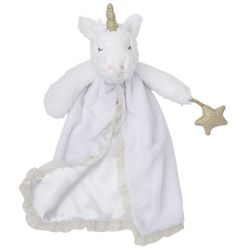 Mud Pie Baby Shimmer Skirted Lovies - Unicorn