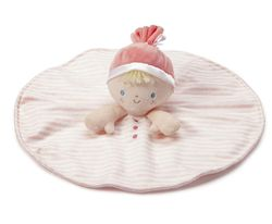 Nat & Jules My First Doll Blankie - Blonde from DEMDACO Baby