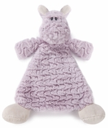 Nat & Jules Harlow Hippo Rattle Cozy Baby Blankie