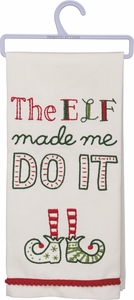 Primitives by Kathy Dish Towels - The Elf