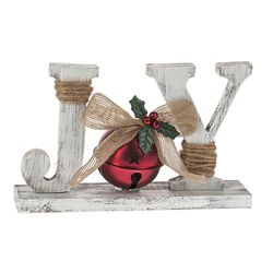 Ring in the Holidays- Joy Table Top Sign