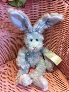 Russ Berrie Iris Bunny Small 9 Inch Size