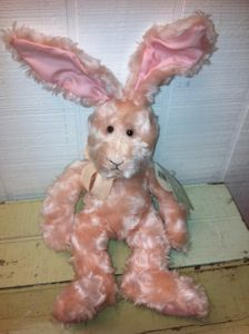 Russ Berrie Mimosa Bunny Small 9 Inch
