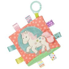 Taggies Crinkle Me Painted Pony Activity Toy